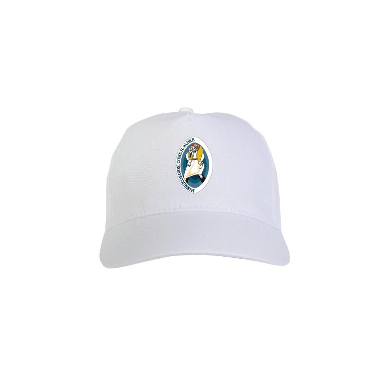 Cappello bianco con Logo del Giubileo  09d2f3f5154b