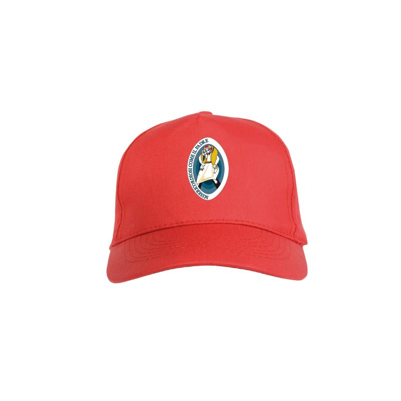 Cappello rosso con Logo del Giubileo  b317c16ba97b