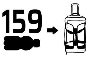 Big Trolley Rline in RPET (plastica riciclata) - bottiglie utilizzate