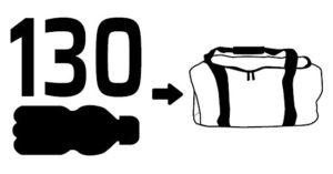Borsa Viaggio Mini Rline in RPET (plastica riciclata) - bottiglie utilizzate